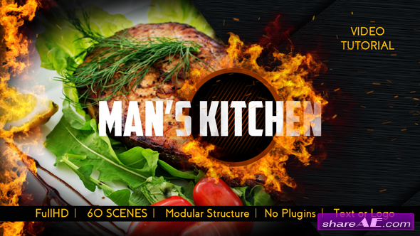 cooking » free after effects templates | after effects intro
