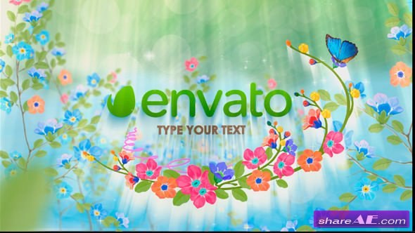 Videohive Spring Logo » free after effects templates   after